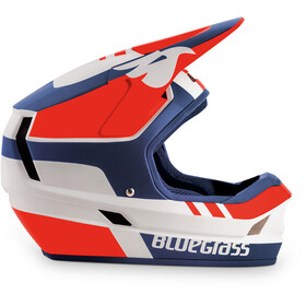 bluegrass Legit Helm white/red/blue